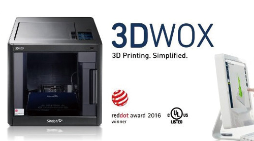 Sindoh expands the 3D printer distribution channel to Japan and UK via Amazon.com